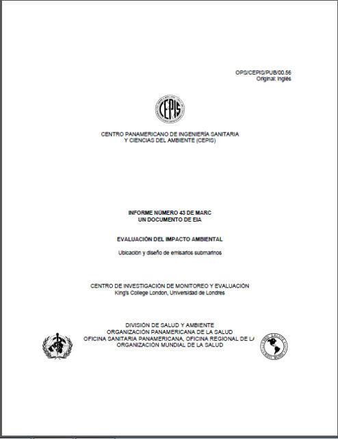 Impacto Ambiental-Ubicacion y Diseño del Emisario Submarino.