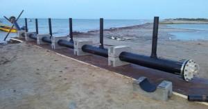 Difusor de PEAD,Emisario submarino, acueductos