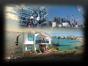 Sistema de Depuración por Emisario Submarino para zonas Industriales y Residencial.