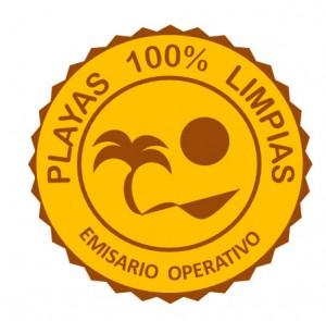 LOGO - Playas 100 % Limpias