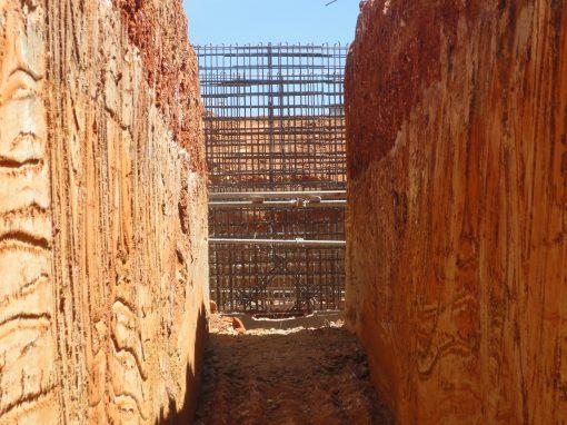 Construcción  del Sistema de Toma y Descarga de agua de mar en la Planta Juan Bautista  Arismendi (PJBA). Nueva Esparta. Venezuela. Año 2012.