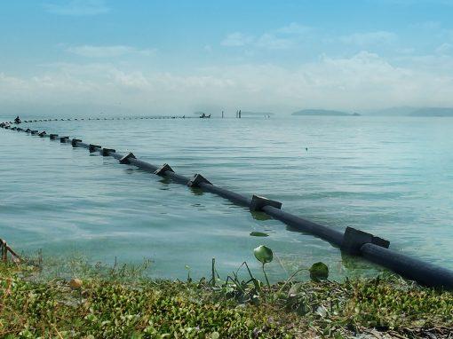 Sistema de toma de agua en el Lago de Valencia y almacenamiento en laguna artificial para la Avícola Macundo, ubicada Guacara, Edo. Carabobo. Venezuela. Año 2014.